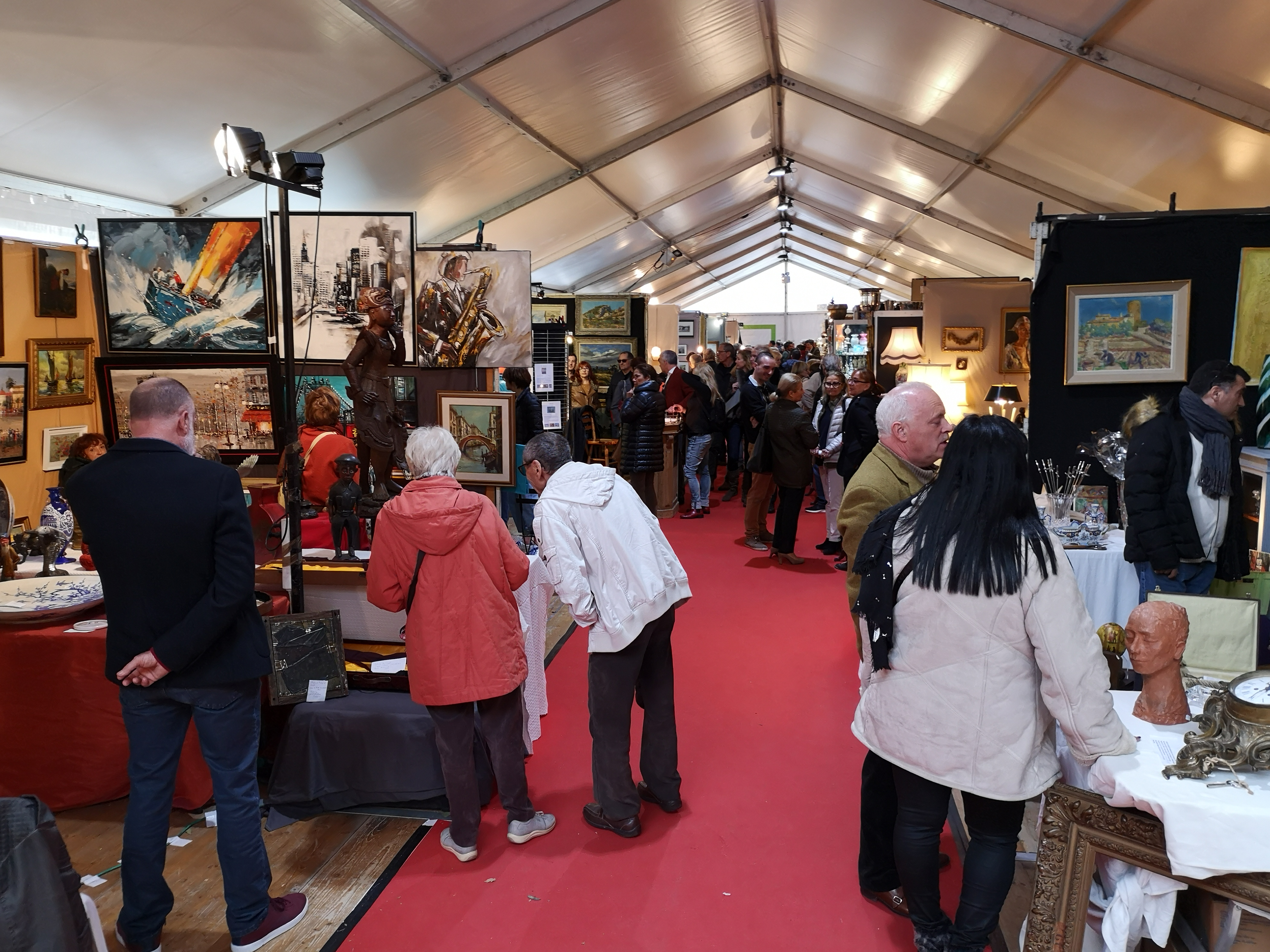 Collioure - salon des antiquaires