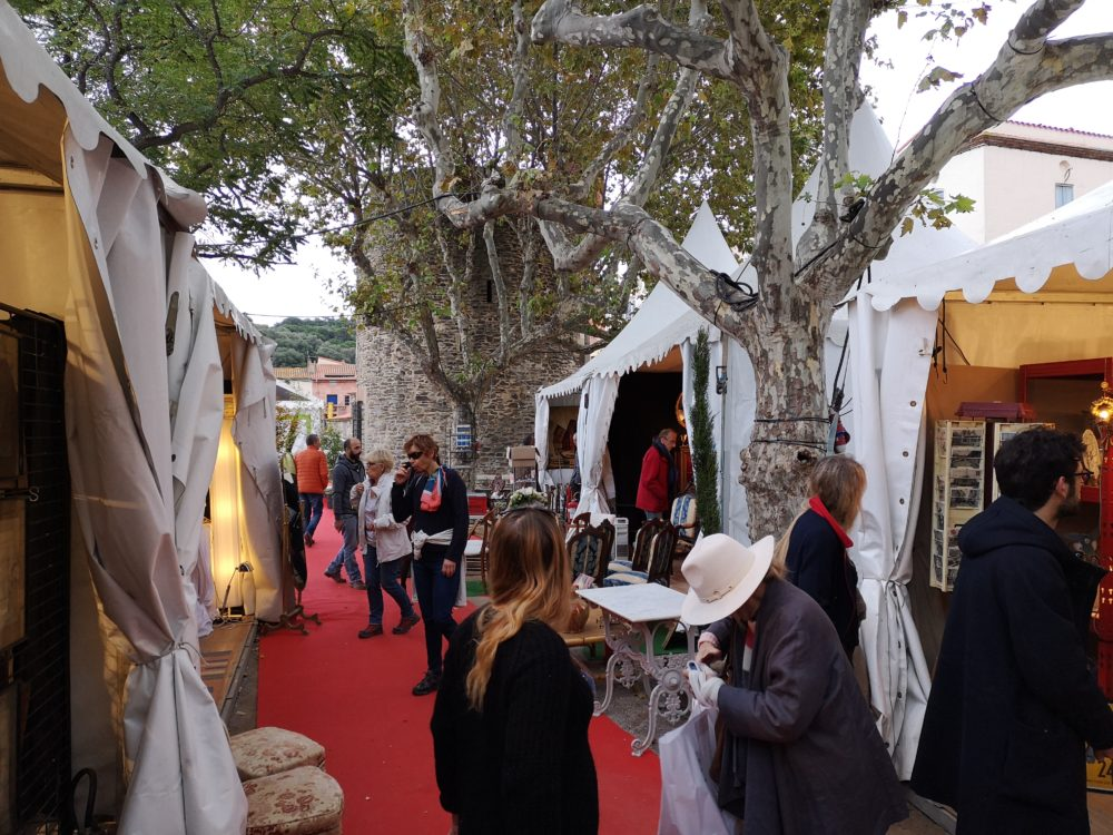 Collioure - salon des antiquaires 2018