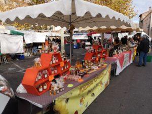 Thuir, marché des producteurs locaux