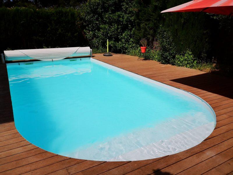 La belle piscine de nos chambres d'hôtes
